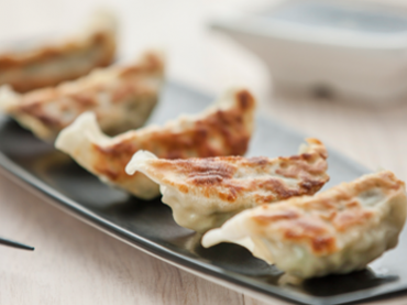 Chicken & Vegetable Gyozas